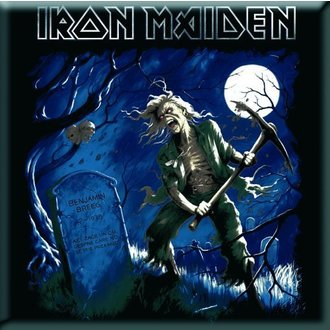 Magnet Iron Maiden - Benjamin Breeg Fridge Magnet - ROCK OFF, ROCK OFF, Iron Maiden