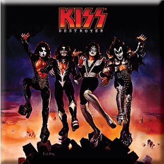 Magnet Kiss - Destroyer Album Cover Fridge Magnet - ROCK OFF, ROCK OFF, Kiss