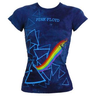 tricou stil metal Pink Floyd - Prism Longer Length - LIQUID BLUE, LIQUID BLUE, Pink Floyd