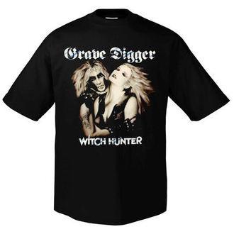 tricou stil metal bărbați Grave Digger - Witchhunter Retro - ART WORX, ART WORX, Grave Digger