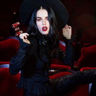 Pantaloni damă KILLSTAR - Bloodlust - KSRA000654