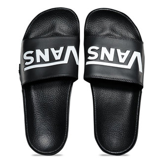 șlapi unisex - MN SLIDE-ON (VANS) BLACK - VANS, VANS