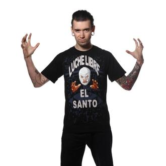 tricou hardcore bărbați TOXICO El Santo black, TOXICO