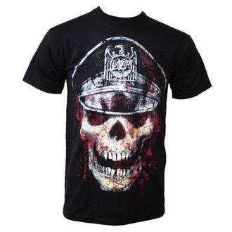 tricou stil metal bărbați Slayer - Skull Hat - ROCK OFF - SLAYTEE01MB