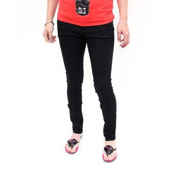 pantaloni femei -slab- FIER PUMN - Heatlocked - NEGRU, IRON FIST