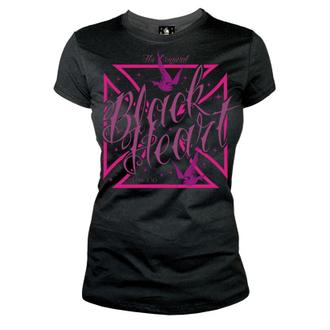 tricou de stradă femei - Swallow Gross - BLACK HEART, BLACK HEART