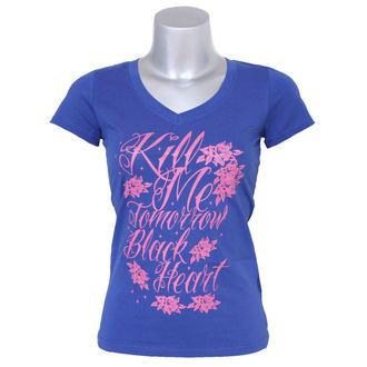 tricou de stradă femei - Kill Me - BLACK HEART, BLACK HEART