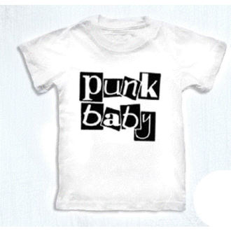 tricou stil metal copii - Punk Baby - ROCK DADDY - 16007-006, ROCK DADDY