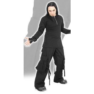 pantaloni bărbați BĂŢ ATAC - Negru Dezastru, BAT ATTACK