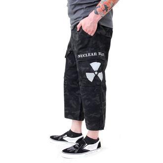 pantaloni scurți bărbați Negru Camuflaj - NUCLEAR BLAST, NUCLEAR BLAST