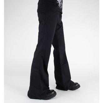 pantaloni Negru Pistol - Cufundar Hipster dril Negru, BLACK PISTOL