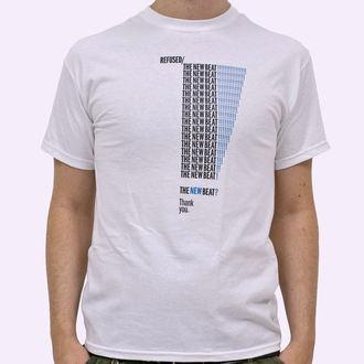 tricou stil metal bărbați Refused - The New Beat - KINGS ROAD - White, KINGS ROAD, Refused
