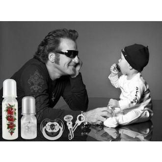 suzetă silicon ROCK STEA BEBELUS - tatoo Pirat, ROCK STAR BABY