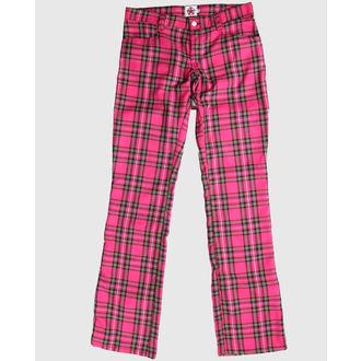 pantaloni Negru Pistol - Hipster soldat scoțian Roz, BLACK PISTOL
