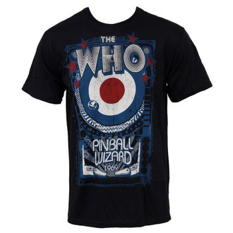 tricou stil metal Who - Pinball - LIQUID BLUE, LIQUID BLUE, Who