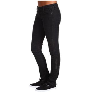 pantaloni femei METAL Mulisha - Călăreț dril - Negru, METAL MULISHA