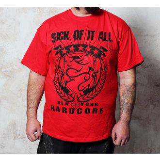 tricou stil metal bărbați Sick of it All - HC Crest - Buckaneer, Buckaneer, Sick of it All
