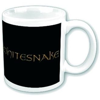ceașcă Șarpe alb - coamă Logo, ROCK OFF, Whitesnake