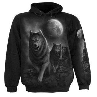 hanorac cu glugă bărbați - Wolf Pack Wrap - SPIRAL, SPIRAL