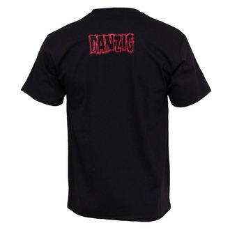 tricou stil metal bărbați Danzig - Chrome - BRAVADO, BRAVADO, Danzig