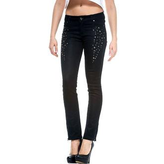 pantaloni femei FIER PUMN - Timp La Strălucire, IRON FIST