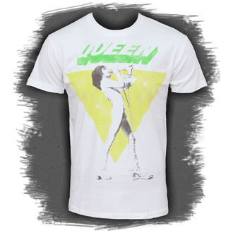 tricou stil metal bărbați Queen - Freddy Sings - BRAVADO, BRAVADO, Queen