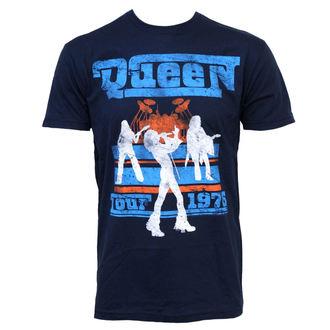 tricou stil metal bărbați Queen - Tour 76 - BRAVADO, BRAVADO, Queen