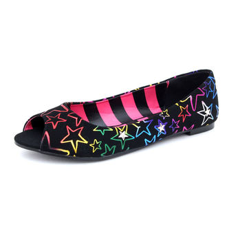 balerini femei Avril Lavigne - Starstruck Peep Toe Flat - ABBEY DAWN, ABBEY DAWN, Avril Lavigne