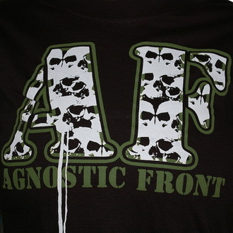 tricou stil metal femei Agnostic Front - Skulls - RAGEWEAR, RAGEWEAR, Agnostic Front