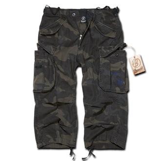 pantaloni scurți bărbați 3/4 Brandit - Industrie Epocă Darkcamo, BRANDIT