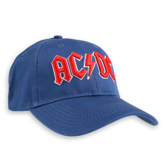 Șapcă AC / DC - Red Logo Mid-Blue - ROCK OFF, ROCK OFF, AC-DC