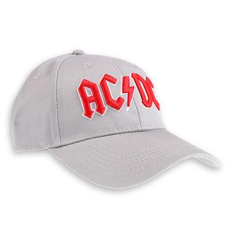 Șapcă AC / DC - Red Logo Grey - ROCK OFF, ROCK OFF, AC-DC