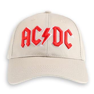 Șapcă AC / DC - Red Logo Sand - ROCK OFF, ROCK OFF, AC-DC