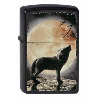Brichetă ZIPPO - WOLF HOWLING TO THE MOON, ZIPPO