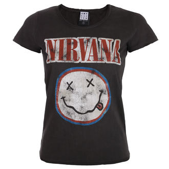 tricou stil metal femei Nirvana - COLOURS - AMPLIFIED, AMPLIFIED, Nirvana