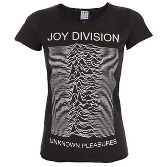 tricou stil metal femei Joy Division - UNKNOWN PLEASURES - AMPLIFIED, AMPLIFIED, Joy Division