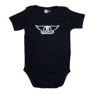 puncte copii Aerosmith - Logo - Negru, Metal-Kids, Aerosmith