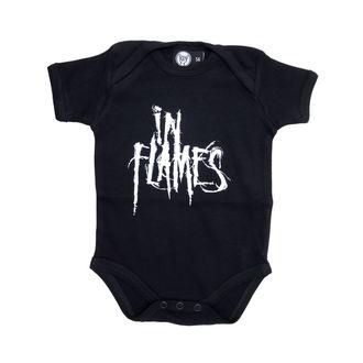 body copii În flăcări - Logo - Negru, Metal-Kids, In Flames