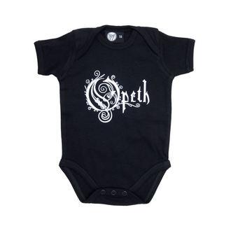 body copii Opeth - Logo - Negru, Metal-Kids, Opeth