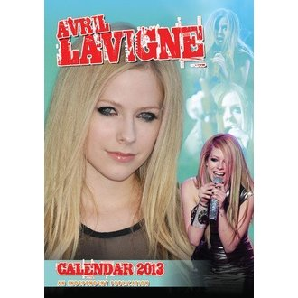 calendar la an 2013 Avril Lavigne, Avril Lavigne