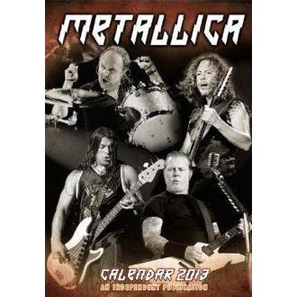 calendar la an 2013 Metallica, Metallica