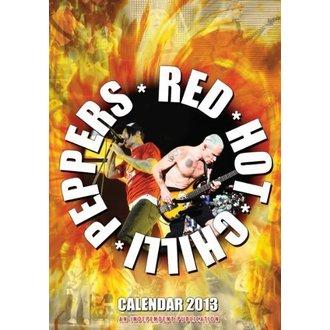 calendar la an 2013 - roșu Fierbinte chili Ardei, Red Hot Chili Peppers