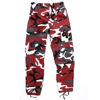 pantaloni bărbați US BDU - RED-CAMO, MMB