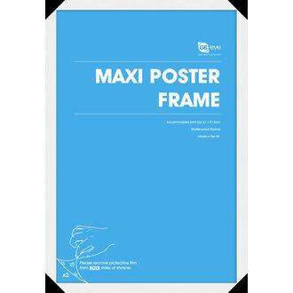 cadru la poster (61x91,5 cm) - alb - GB posters, GB posters
