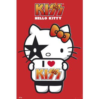 poster buna Kitty - Pup eu Dragoste - Nu Germania - GB posters, HELLO KITTY, Kiss