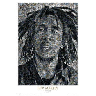 poster Bob Marley - Mozaic II - GB posters, GB posters, Bob Marley
