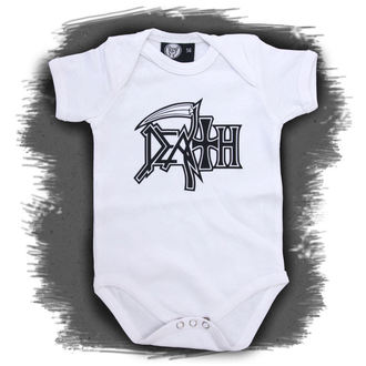 body copii Moarte - Logo - alb, Metal-Kids, Death