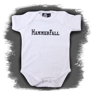 puncte copii Hammerfall - Logo - alb, Metal-Kids, Hammerfall