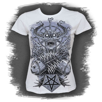 tricou hardcore femei - Metal Demon, BLACK ICON