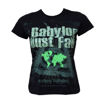 tricou hardcore femei - Babylon Must Fall - BLACK ICON, BLACK ICON